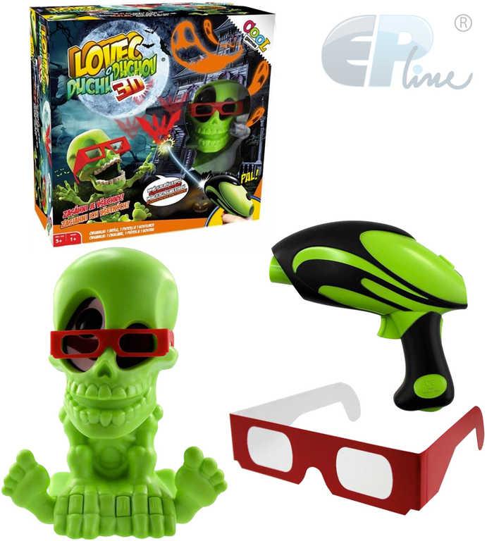 EP line HRA Cool Games Lovec duchů set s pistolí a 3D brýlemi *SPOLEČENSKÉ HRY*
