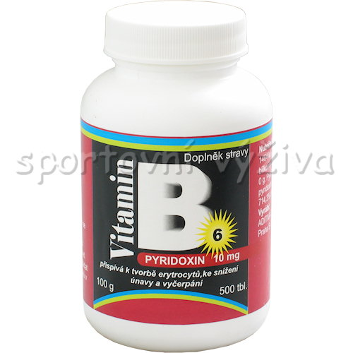Pyridoxin vitamín B 6 10mg 500 tablet