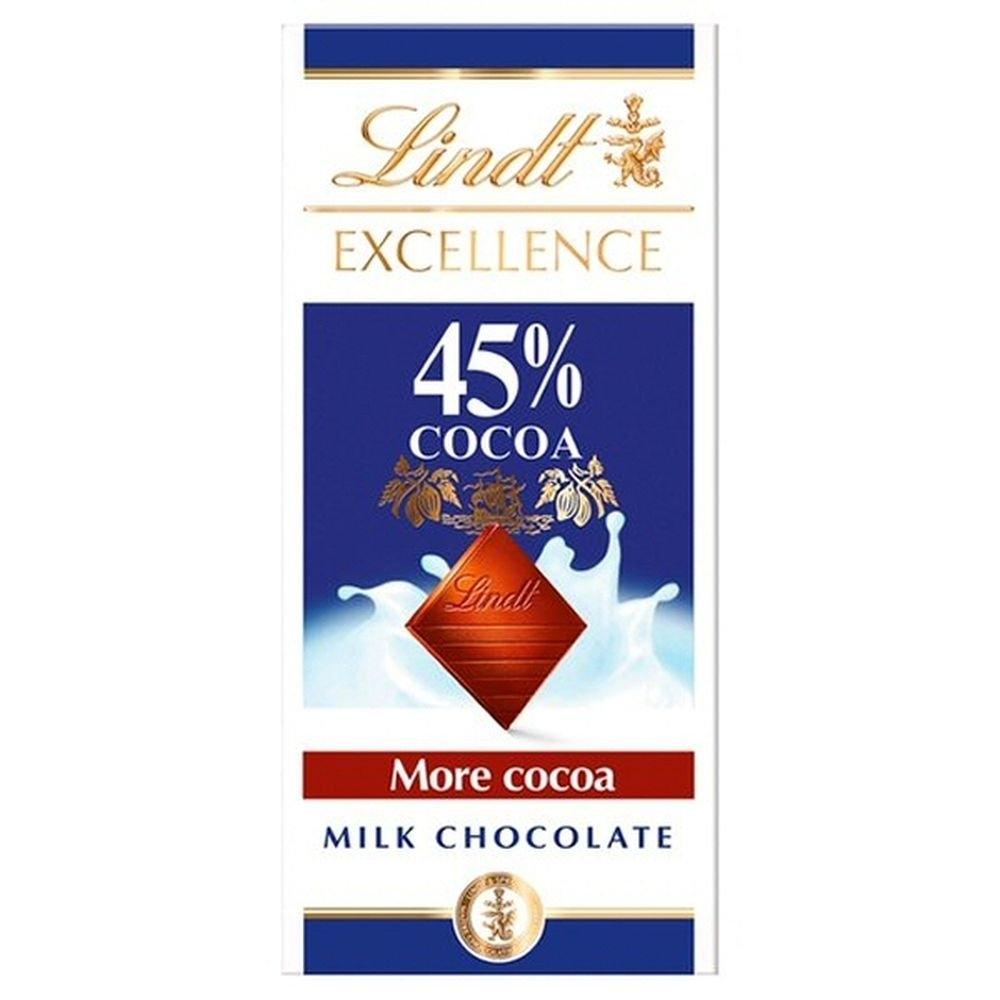 Excellence Mléčná čokoláda 45% 80g
