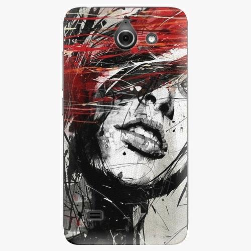 Plastový kryt iSaprio - Sketch Face - Huawei Ascend Y550