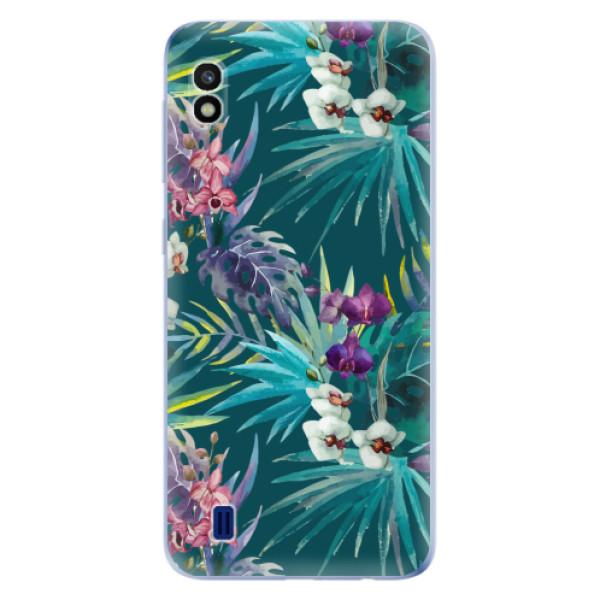 Odolné silikonové pouzdro iSaprio - Tropical Blue 01 - Samsung Galaxy A10