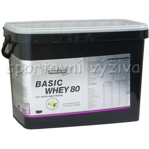 Basic whey protein - 4000g-exotic