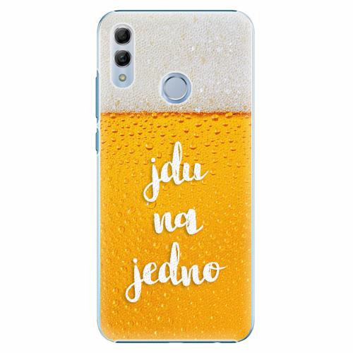 Plastový kryt iSaprio - Jdu na jedno - Huawei Honor 10 Lite