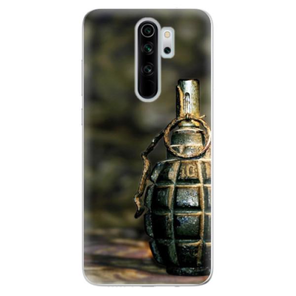 Odolné silikonové pouzdro iSaprio - Grenade - Xiaomi Redmi Note 8 Pro
