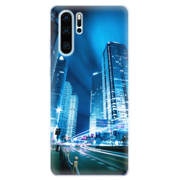 Odolné silikonové pouzdro iSaprio - Night City Blue - Huawei P30 Pro