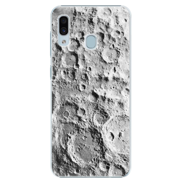 Plastové pouzdro iSaprio - Moon Surface - Samsung Galaxy A30