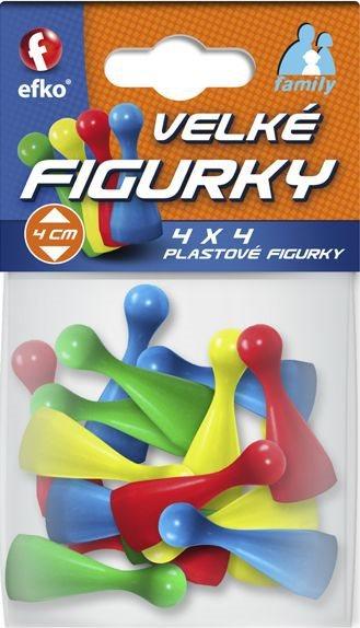 EFKO Figurky ke společenským hrám Family Velké 16 ks v sáčku
