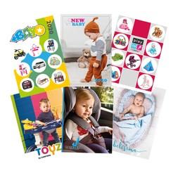 Propagační materiály Mix katalogů 2020 balení - 6x25 ks - dle obrázku