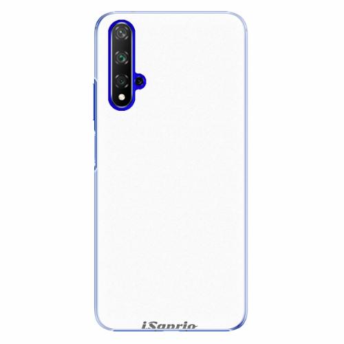 Plastový kryt iSaprio - 4Pure - bílý - Huawei Honor 20