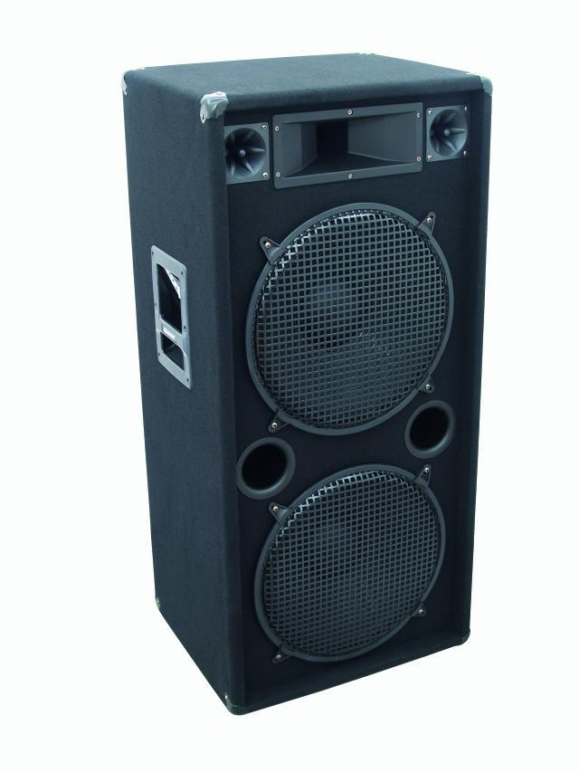 Omnitronic DX-2522, reprobox 500W