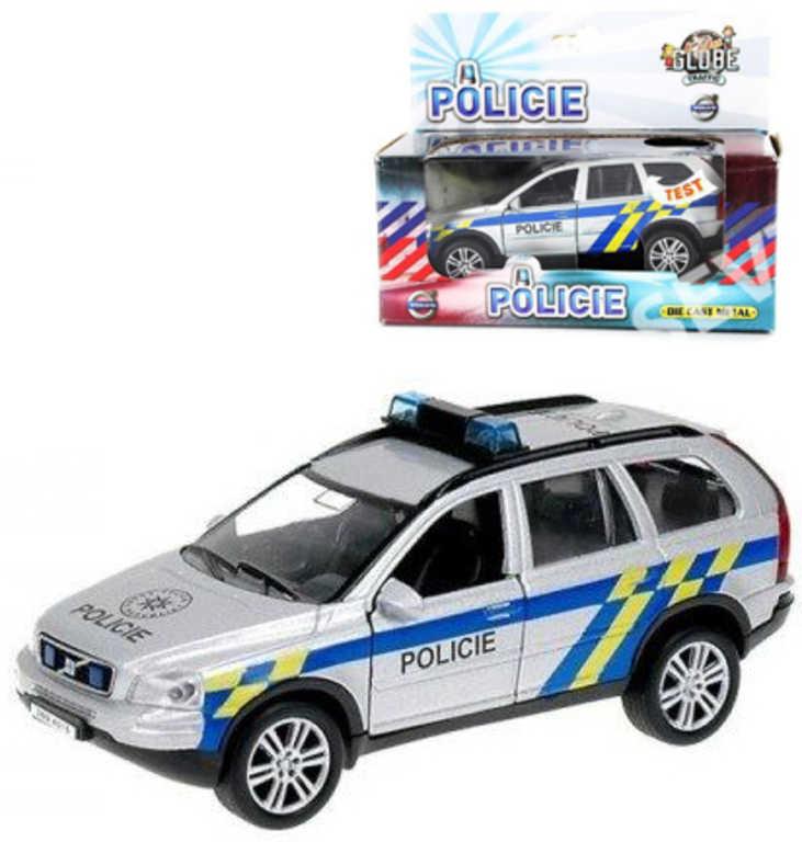Policejní auto kov POLICIE Volvo XC-90 1:43