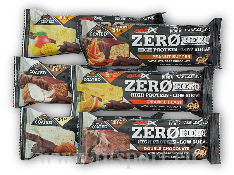 Zero Hero High Protein Low Sugar Bar