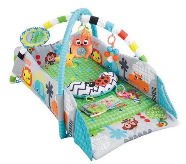 Cangaroo Dětská hrací podložka Oasis, zelená