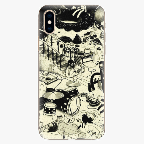 Plastový kryt iSaprio - Underground - iPhone XS