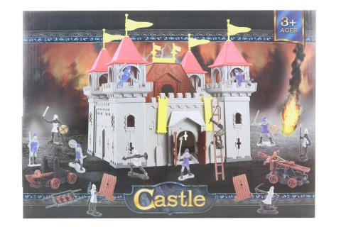 Hrad sada velká s rytíři