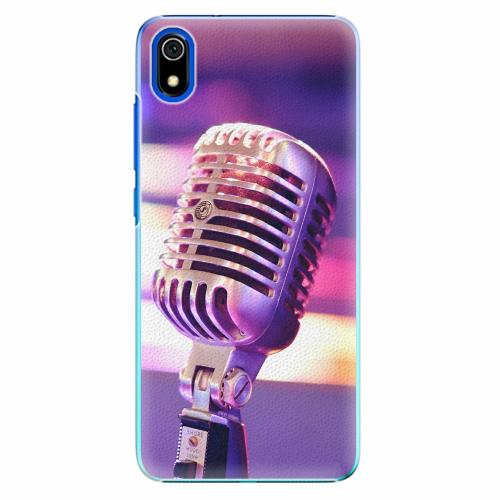 Plastový kryt iSaprio - Vintage Microphone - Xiaomi Redmi 7A