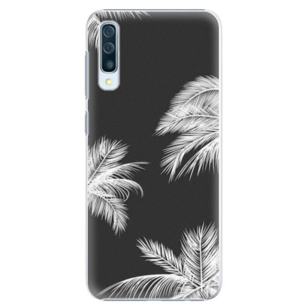 Plastové pouzdro iSaprio - White Palm - Samsung Galaxy A50
