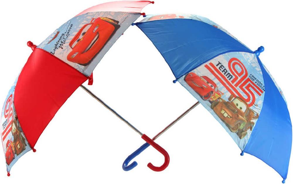 Deštník dětský Cars (Auta) mechanické otevírání 67cm 2 druhy
