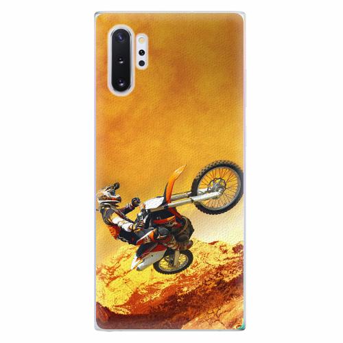 Silikonové pouzdro iSaprio - Motocross - Samsung Galaxy Note 10+