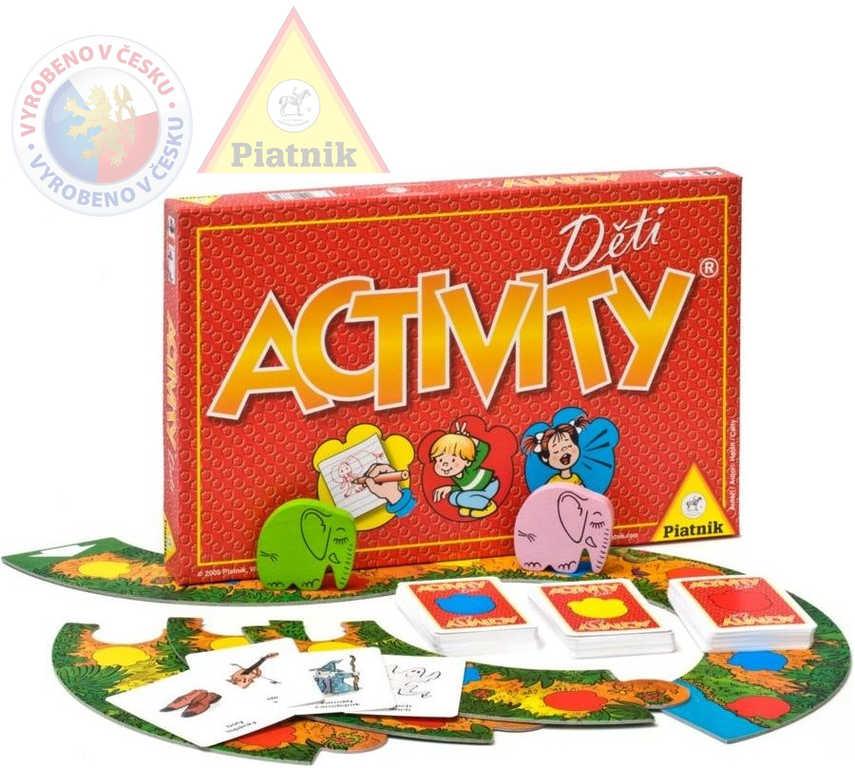 PIATNIK Hra ACTIVITY Děti *SPOLEČENSKÉ HRY*
