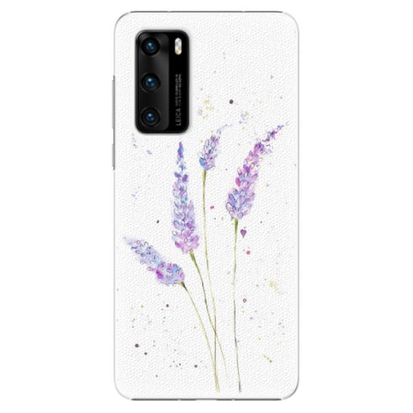 Plastové pouzdro iSaprio - Lavender - Huawei P40