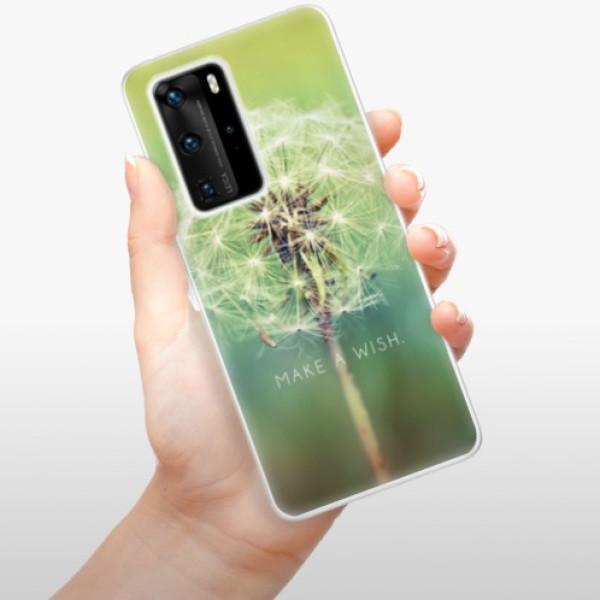 Odolné silikonové pouzdro iSaprio - Wish - Huawei P40 Pro