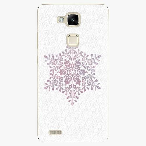 Plastový kryt iSaprio - Snow Flake - Huawei Mate7
