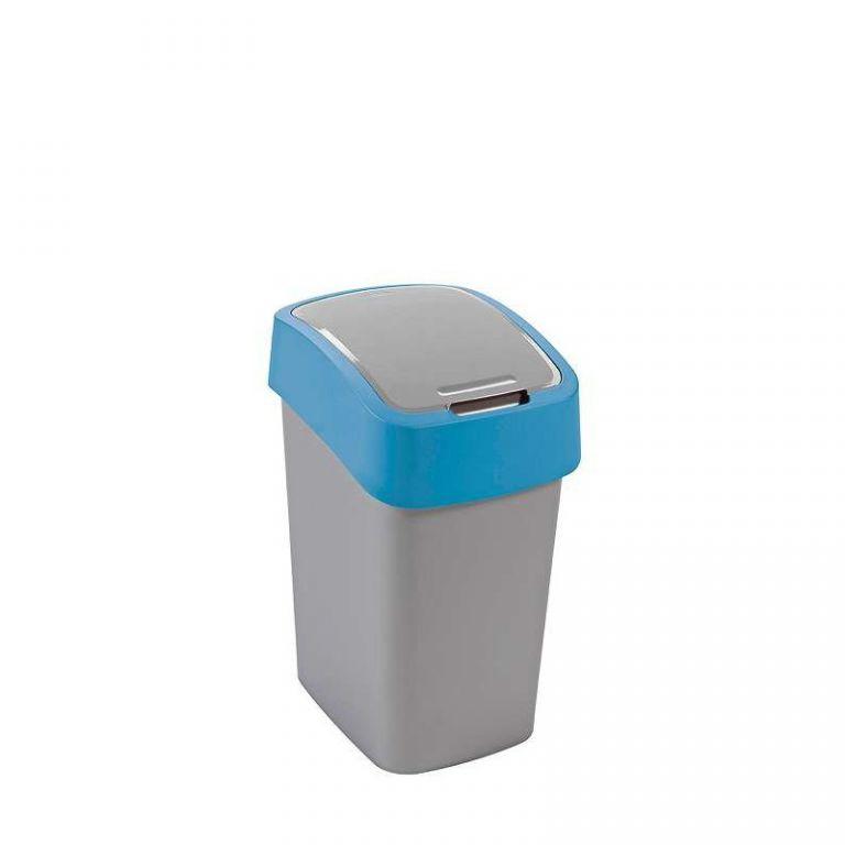 Odpadkový koš FLIPBIN 25l - modrý CURVER