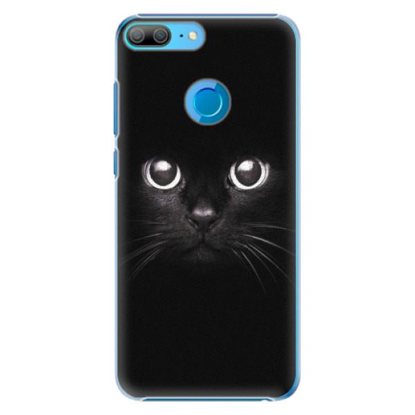 Plastové pouzdro iSaprio - Black Cat - Huawei Honor 9 Lite