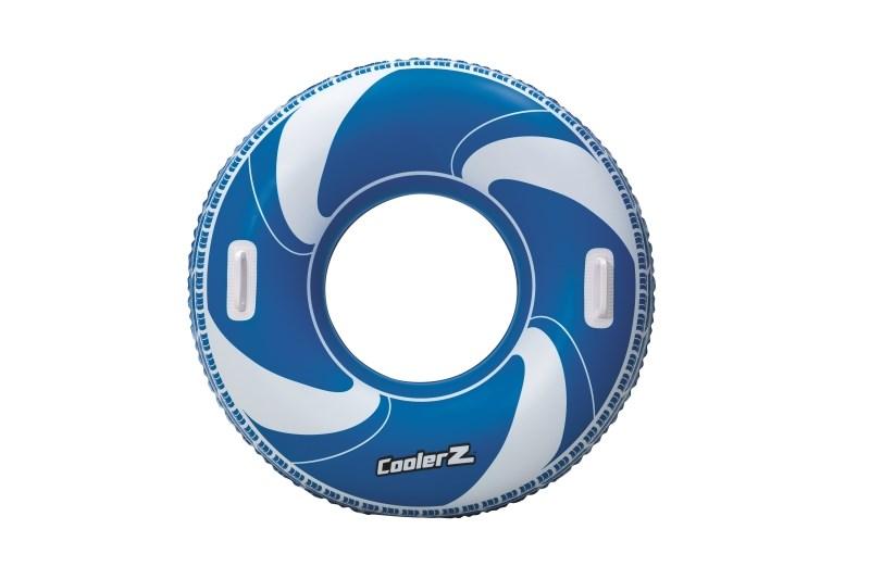 Dětský nafukovací velký kruh Bestway - modrá