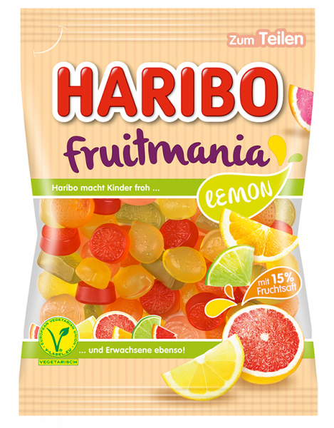 Fruitmania Lemon 85 g
