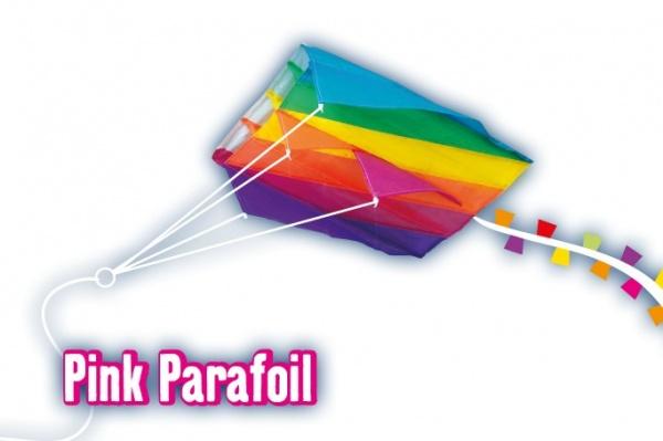 PINK PARAFOIL 60x51