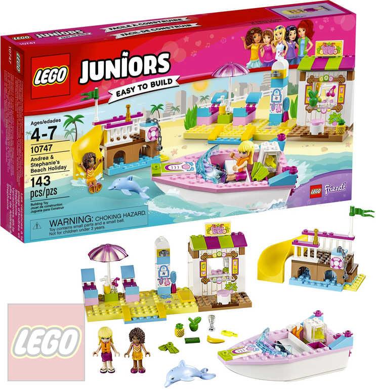 LEGO FRIENDS Andrea a Stephanie na dovolené na pláži 10747 STAVEBNICE