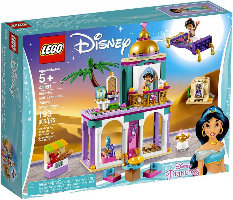 LEGO PRINCESS Palác dobrodružství Aladina a Jasmíny 41161 STAVEBNICE