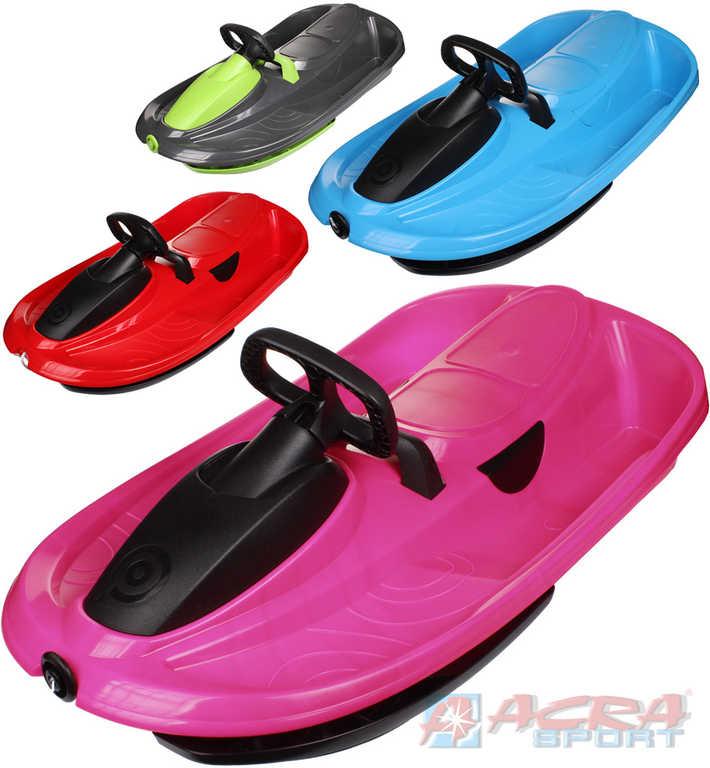 ACRA Boby dětské STRATOS řiditelné pro 2 osoby s volantem - 4 barvy