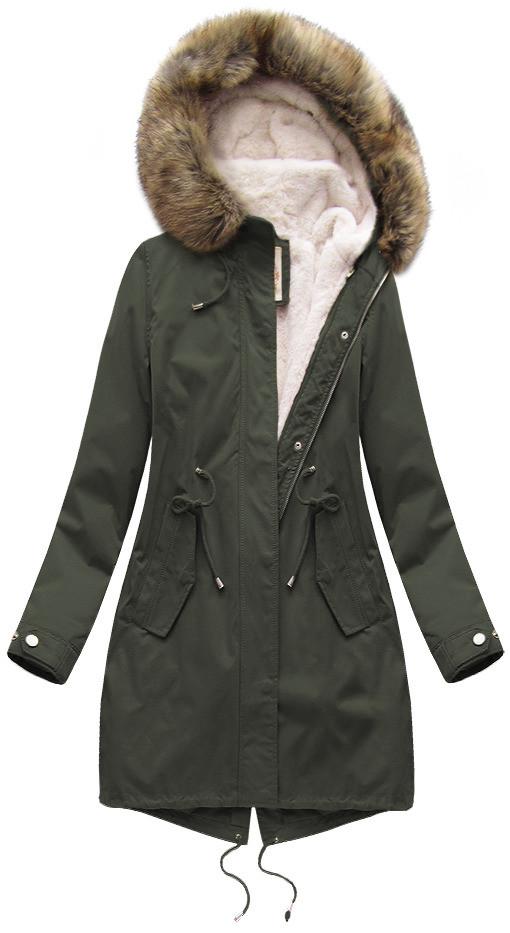 Army dámská zimní bunda s vsadkou (7626BIG)