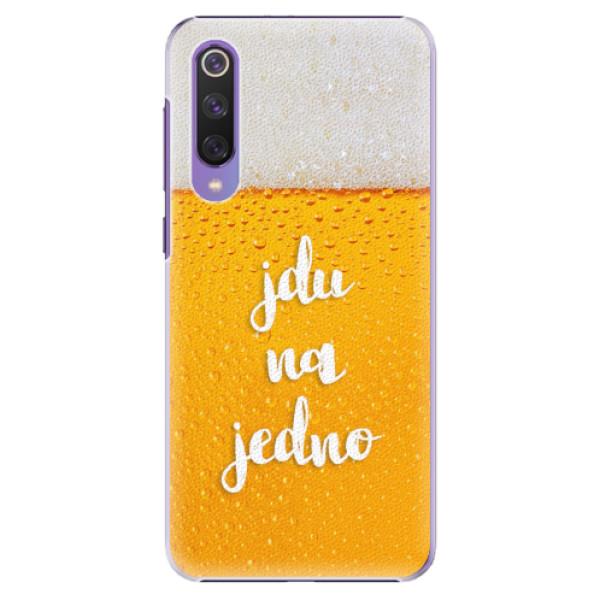 Plastové pouzdro iSaprio - Jdu na jedno - Xiaomi Mi 9 SE