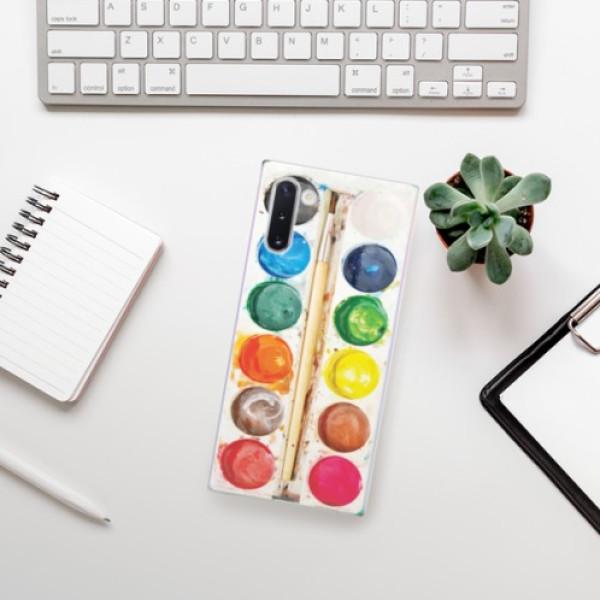 Odolné silikonové pouzdro iSaprio - Watercolors - Samsung Galaxy Note 10