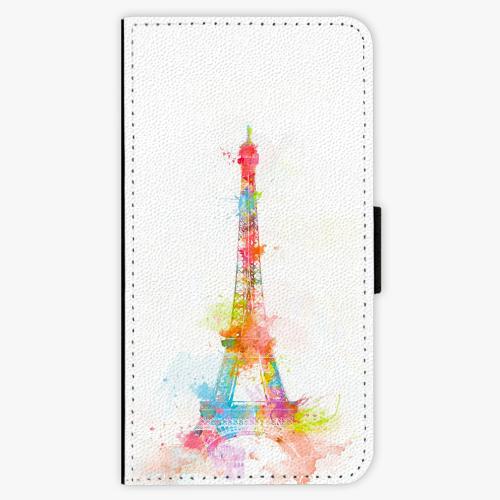 Flipové pouzdro iSaprio - Eiffel Tower - Lenovo Moto G4 / G4 Plus