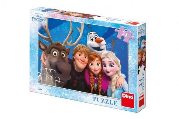 Puzzle Ledové království/Frozen Selfie 24 dílků