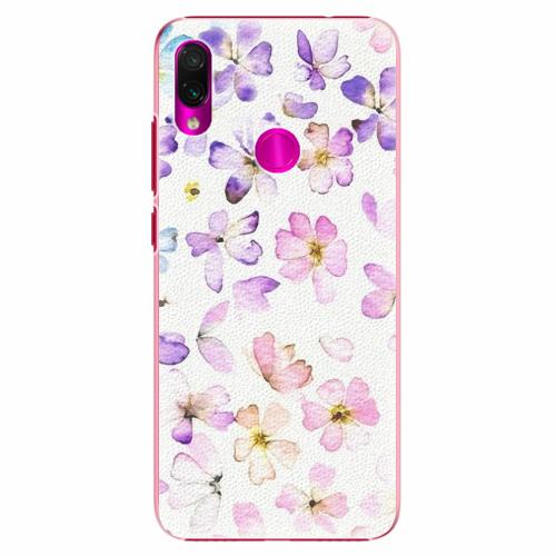 Plastový kryt iSaprio - Wildflowers - Xiaomi Redmi Note 7