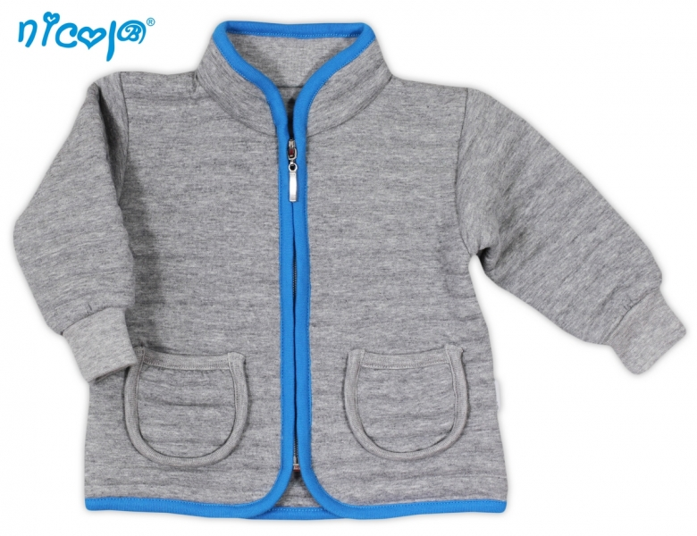 Kabátek mikinka NICOL TUČŇÁK - 3D pruhy a9151d861f