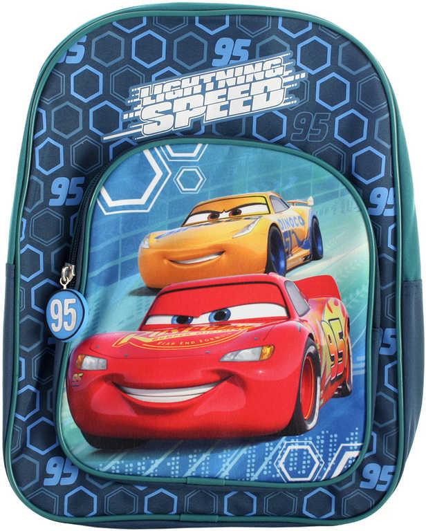 Batoh dětský Cars (Auta) s kapsičkou vepředu 25x11x32cm
