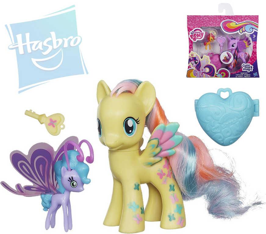 HASBRO MLP My Little Pony set 2 ponící s kouzelným klíčkem a medailonkem 4 druhy