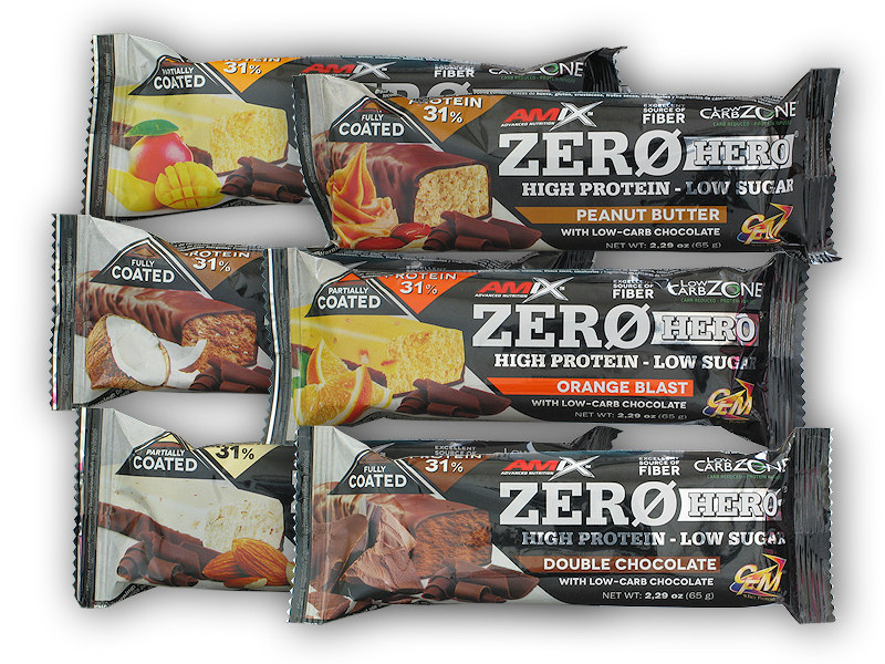 Zero Hero High Protein Bar 65g