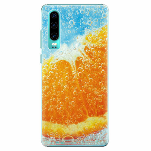 Plastový kryt iSaprio - Orange Water - Huawei P30