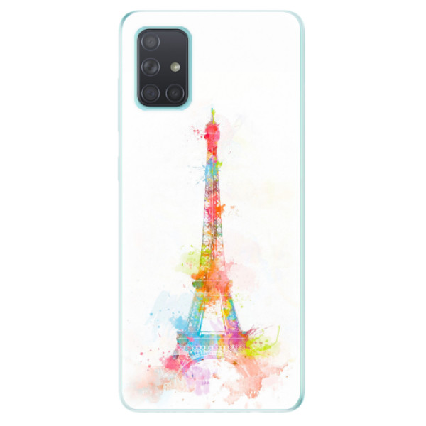 Odolné silikonové pouzdro iSaprio - Eiffel Tower - Samsung Galaxy A71