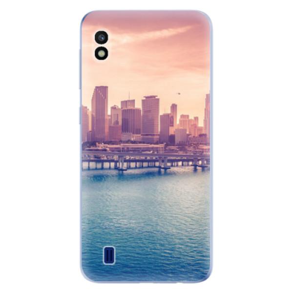 Odolné silikonové pouzdro iSaprio - Morning in a City - Samsung Galaxy A10