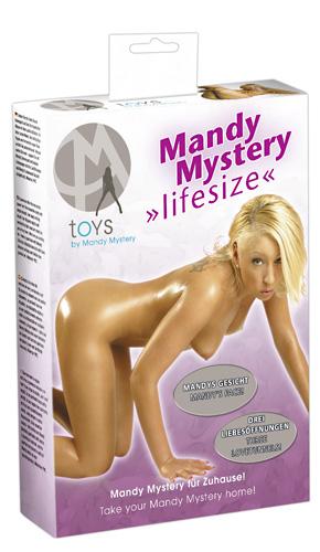 Panna Mandy - Mandy Love Doll - tištěný obličej