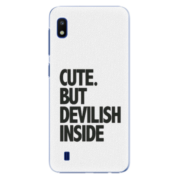 Plastové pouzdro iSaprio - Devilish inside - Samsung Galaxy A10